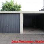 Garage-vorher